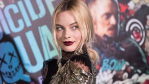 "NEW YORK, NY - AUGUST 01:  Actress Margot Robbie attends the world premiere of ""Suicide Squad"" at The Beacon Theatre on August 1, 2016 in New York City.  (Photo by Noam Galai/Getty Images)"
