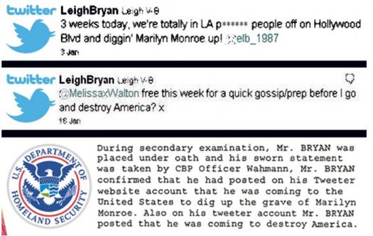 Leigh Van Bryan'ın tweet'i