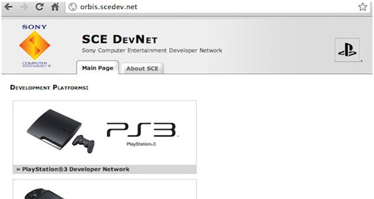 Sony Playstation Orbis