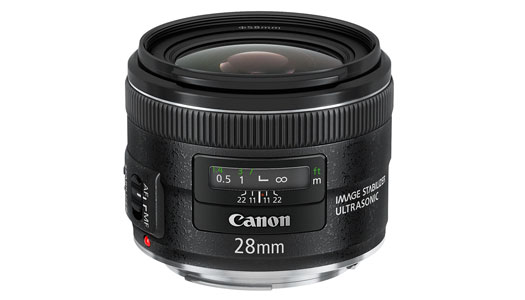 Canon EF 28mm