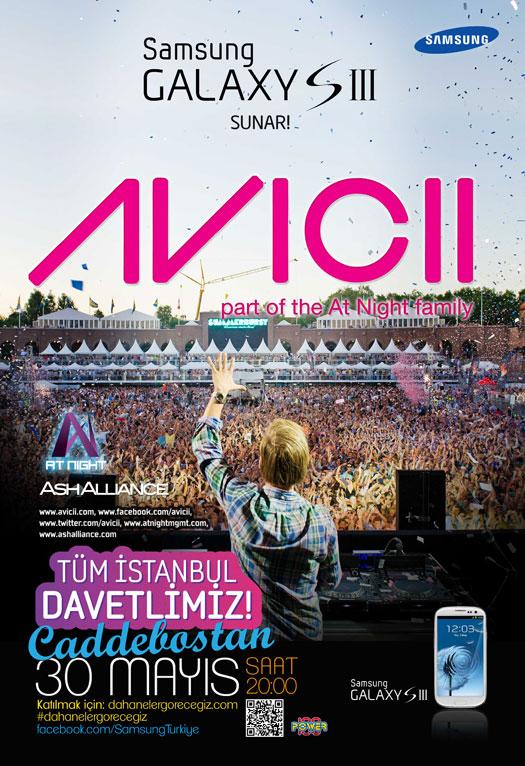 AVICII Samsung Galaxy S III