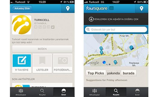 Foursquare Turkcell