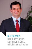 Ali Yılmaz  - Avea  Satıştan Sorumlu Genel  Müdür Yardımcısı