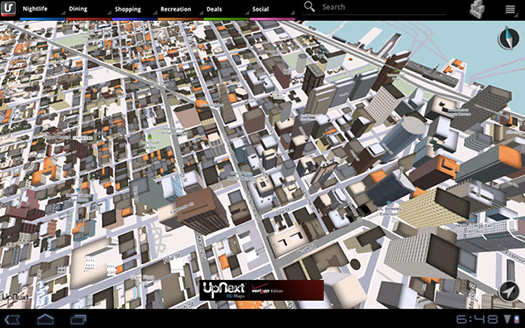 Amazon UpNext 3D Maps