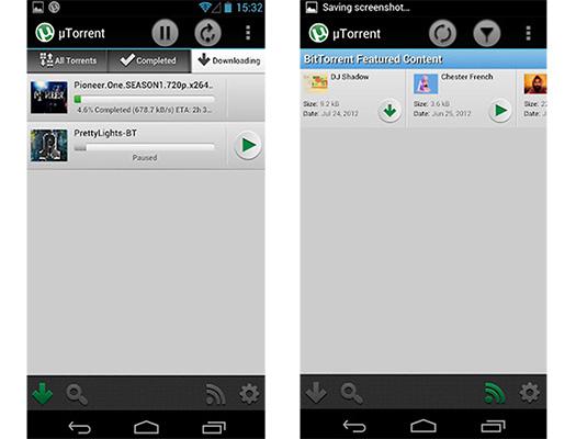 µTorrent Beta Torrent App