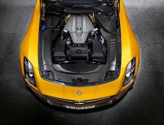 Mercedes Benz AMG SLS Black Series