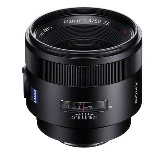 Zeiss Planar-T-50mm lens