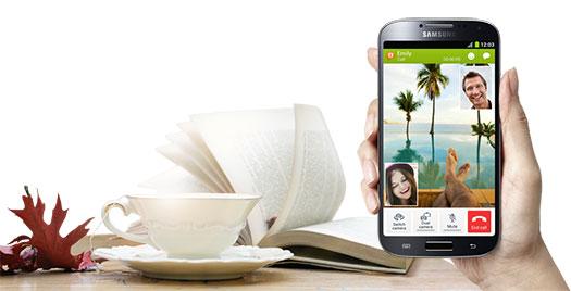 Samsung Galaxy S IV - ChatOn