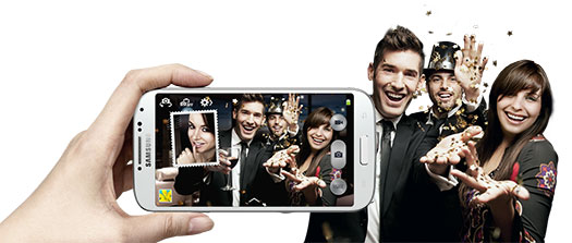 Samsung Galaxy S 4 - Dual Camera