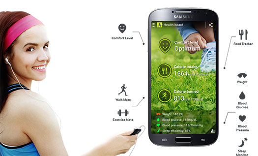 Samsung Galaxy S IV - S Health
