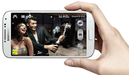 Samsung Galaxy S 4 - Sound & Shot