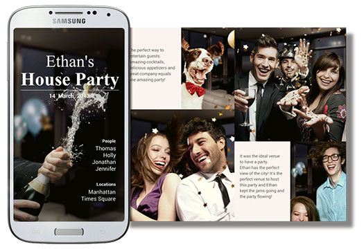 Samsung Galaxy S 4 - Story Album