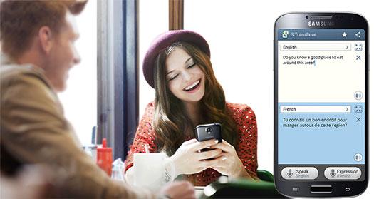 Samsung Galaxy S IV - S Translator