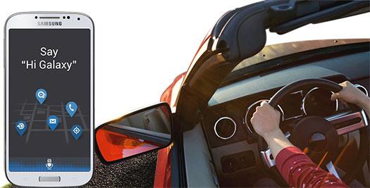 Samsung Galaxy S IV - S Voice Drive