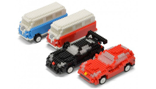 Mini brick car