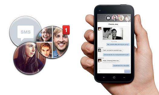 Facebook Home - Sohbet Balonları