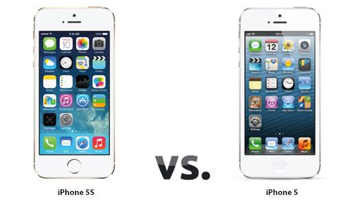 iPhone 5S ve iPhone 5 karşılaştırması