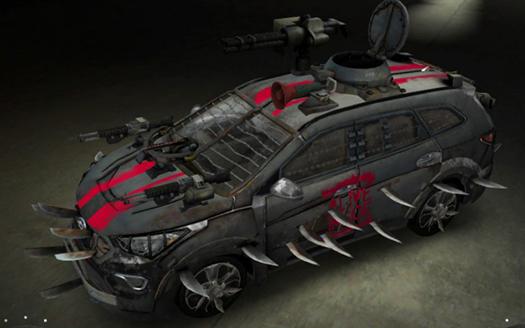 Hyundai Santa Fe Zombie