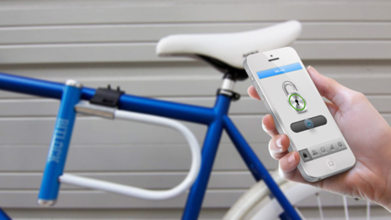 iOS ve Android uyumlu anahtarsız bisiklet kilidi [Video] - LOG