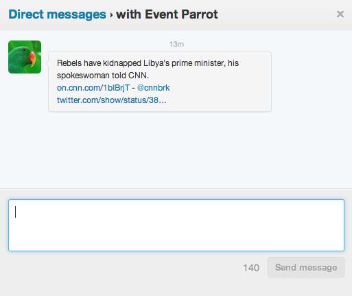 twitter parrot