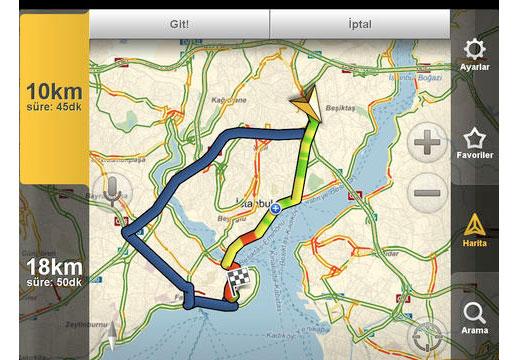 Yandex Navigasyon 1