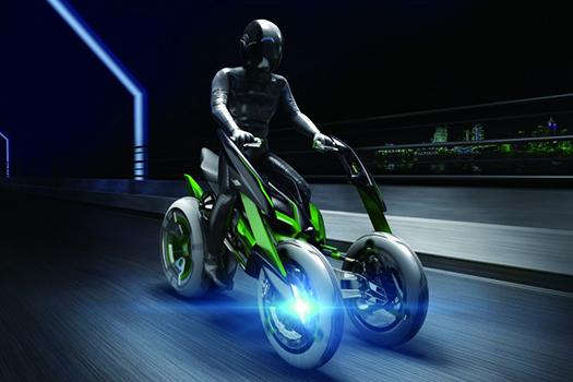 Kawasaki EV concept
