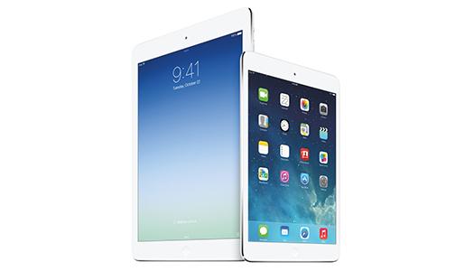 iPad Air -Retina iPad mini