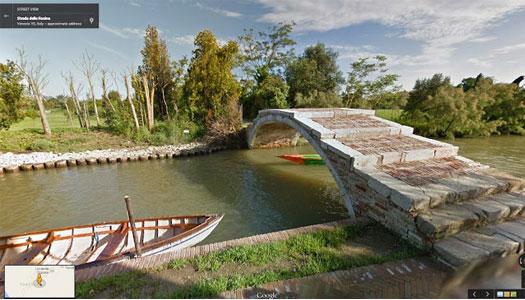 Venedik - Google Street View