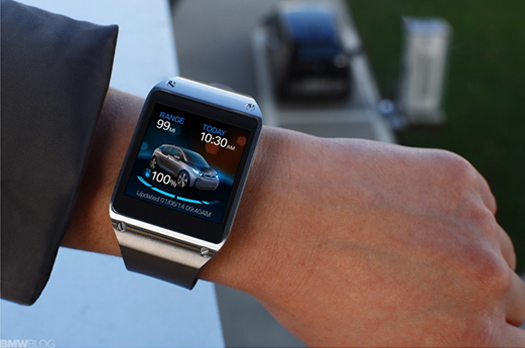 Galaxy Gear ve BMW i3