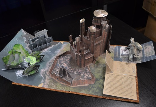 game of thrones-pop-up-book