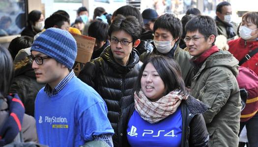 PS4 Japonya lansmanı