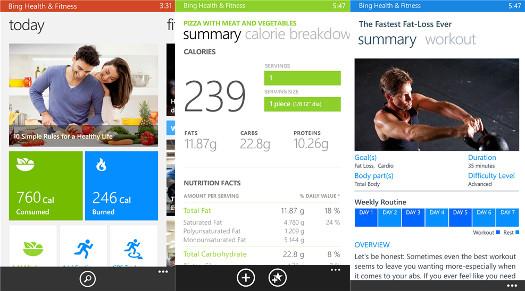 Bing Fitness & Health