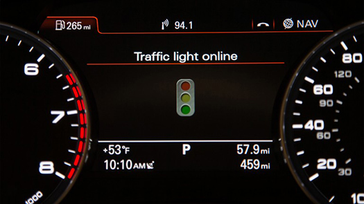 audi traffic light