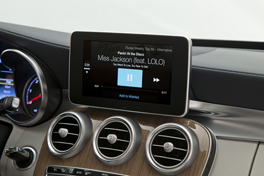 benz carplay