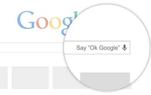 google chrome, ok google