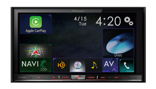 Pioneer AVIC-8000NEX - Apple CarPlay