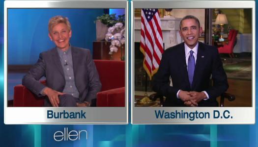Ellen - Obama