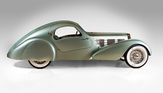 Bugatti Type 57S Competition-Coupe Aerolithe Recreation