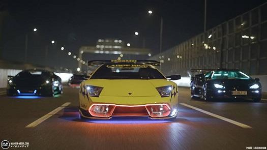 Japonya Da Yakuza Nın Kullandığı Modifiye Lamborghini Ler