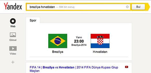 Yandex dünya kupası