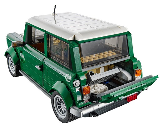 lego mini cooper arka