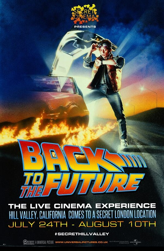 secret cinema bttf