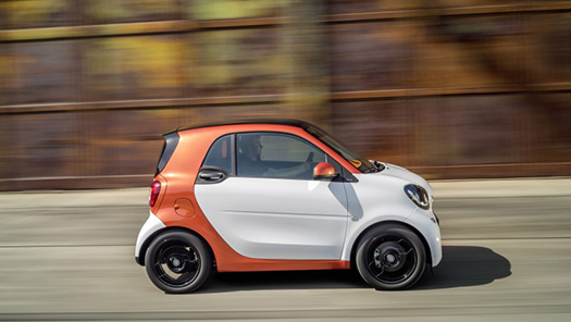 new smart fortwo forfour