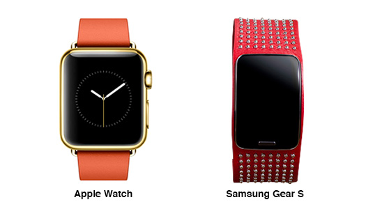 apple watch vs gear s