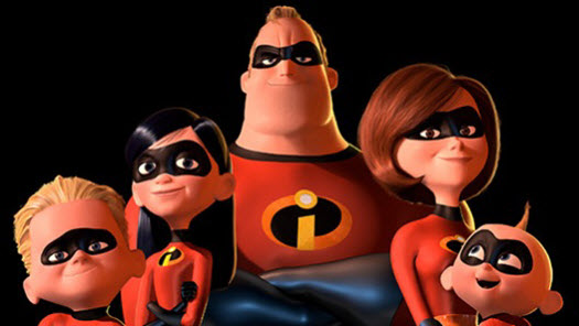the incredibles, inanılmaz aile