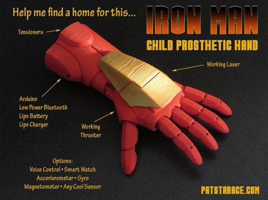 iron man protez el