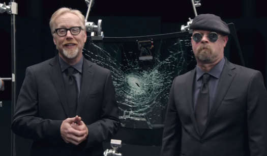 mythbusters, gorilla glass