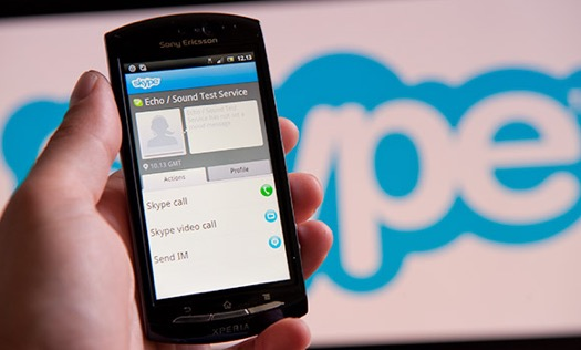 android, skype