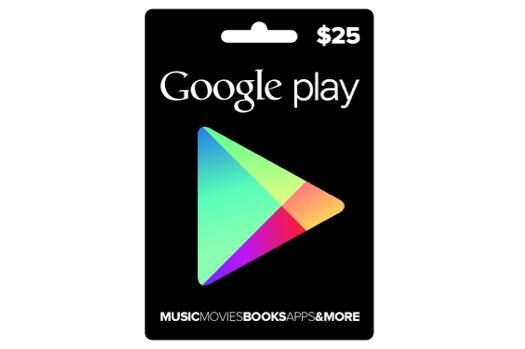 google play, hediye kartı