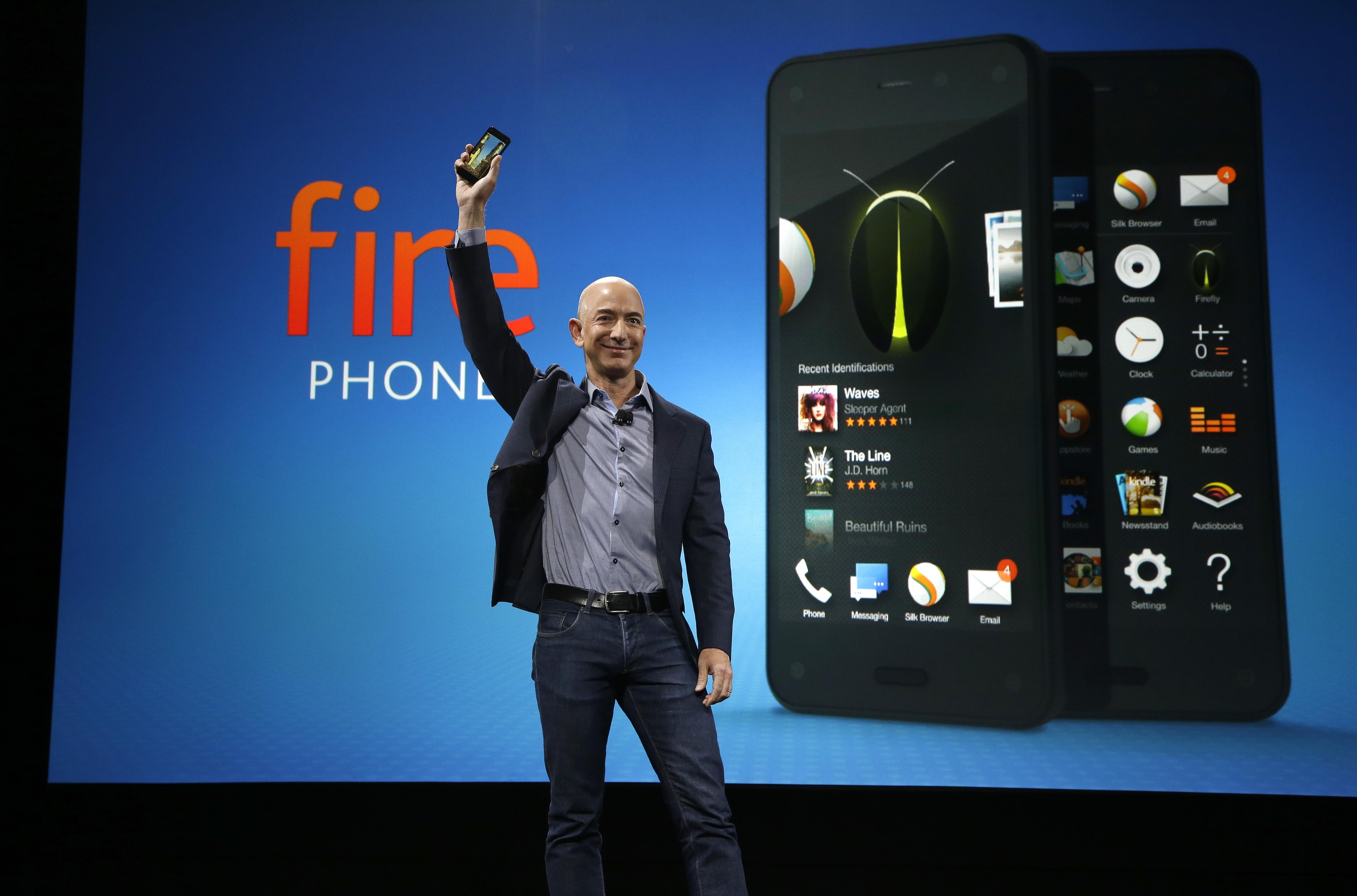 amazon, jeff bezos, fire phone